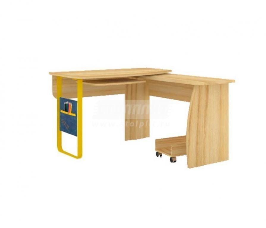 Мебель для детских комнат джинс стол угловой 507.080 (сантан.